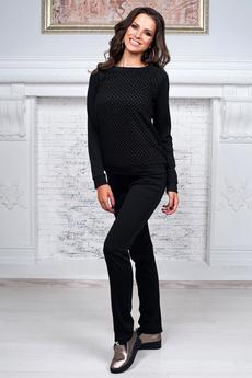 Повседневный костюм: брюки со стрелками и джемпер  Angela Ricci со скидкой