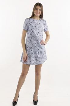 Серо-голубое платье Bast